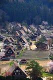 Shirakawago Village, Japan Stock Images