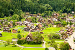 Shirakawago Village royalty free stock photography