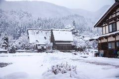 Shirakawago, world heritage village, the tourist destination Stock Photo