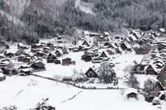 Shirakawako Ιαπωνία Στοκ φωτογραφίες με δικαίωμα ελεύθερης χρήσης