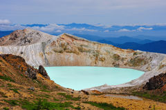 Shirane Crater Lake Stock Photography