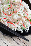 Shirataki noodles Royalty Free Stock Image