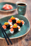 Shirataki sushi Royalty Free Stock Photo
