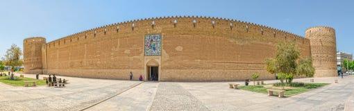 Shiraz Arg of Karim Khan panorama Stock Images