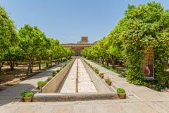Shiraz Citadel garden Stock Image