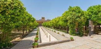 Shiraz Citadel garden panorama Stock Image