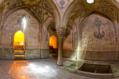 Shiraz Citadel room decoration. Room decoration inside the Arg of Karim Khan in the centre of the Shiraz city Royalty Free Stock Images