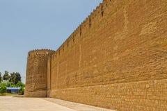 Shiraz Citadel wall and Vakil Fortress Stock Image