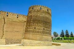 Shiraz Karim Khan Castle 03 royaltyfri bild