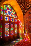 Shiraz menchii meczet 05 fotografia royalty free