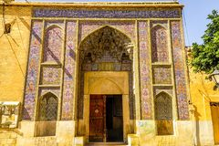 Shiraz Pink Mosque 01 fotografia stock libera da diritti