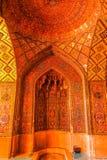 Shiraz Pink Mosque 04 fotografia stock libera da diritti