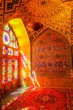 Shiraz Pink Mosque 06 fotografia stock libera da diritti