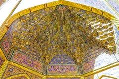 Shiraz Pink Mosque 08 fotografia stock libera da diritti