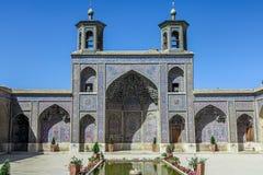 Shiraz Pink Mosque 12 fotografia stock libera da diritti