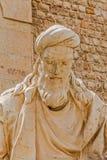Shiraz Statue de Khwaju Kermani Photographie stock
