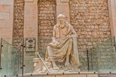 Shiraz Statue von Khwaju Kermani Stockfotografie