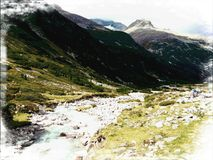 Shire de l'Autriche Photographie stock