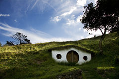 Shire. Hobbit's cottage. Royalty Free Stock Photos