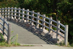 Shiretoko Bridge#2. Serene Bridge at the Shiretoko of Hokkaido, North East Japan Stock Image