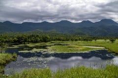 Shiretoko Unesco World heritage, Hokkaido, Japan stock image