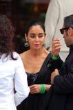 Shirin Neshat in Venedig Lizenzfreie Stockfotos