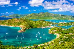 Shirley Heights, Antigua-et-Barbuda photos libres de droits