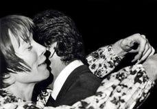 Shirley MacLaine, Charles Percy, Hugh O 'Brian stock foto's