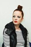 Shirley Manson do LIXO executa na fase o 13 de novembro de 2012 em Minsk, Bielorrússia Imagens de Stock Royalty Free