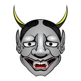 Shiro-Hannya. Vector Illustration of Shiro-Hannya Japanese demon Royalty Free Stock Photos
