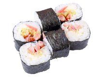 Shiro maki rolls Royalty Free Stock Photos