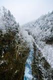 Shirohige瀑布 图库摄影