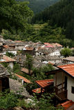 Shiroka Laka village  in Bulgaria Royalty Free Stock Images