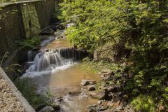 The little stream royalty free stock images