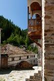 Shiroka lyka村庄保加利亚 免版税图库摄影