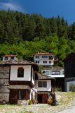 Shiroka lyka街道在保加利亚 图库摄影