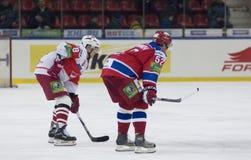 Shirokov Sergey and Mikhailov Egor Royalty Free Stock Images