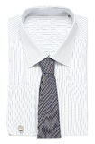 Shirt. Classic shirt with spotted tie Stock Image