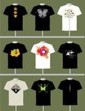 Shirt-Auslegung Stockfotografie