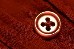 Buttons on Shirt Blouse Jacket Clothing Apparel Royalty Free Stock Image