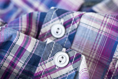 Shirt button Stock Photo