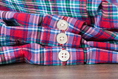 Shirt buttons Stock Photos