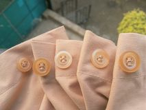 Shirt buttons Royalty Free Stock Images