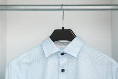 Shirt in the closet Stock Images