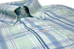 Shirt closeup. On white background Stock Photography