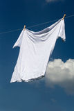Shirt on clothesline. Stock Photography