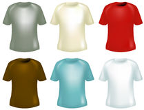 Shirt design Royalty Free Stock Photos