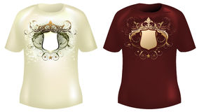 Shirt design Stock Photos