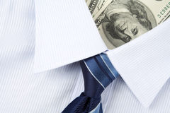 Shirt and Dollar Stock Photos