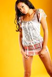 Shirt dress fashion Stock Photos